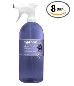 All Purpose Cleaner, Lavender, Eight 28 Ounce Bottles