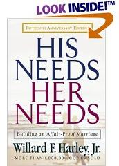 His Needs & Her Needs book