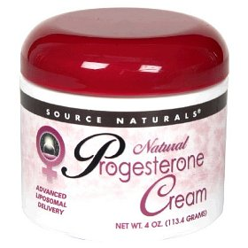 Natural progesterone supplementation