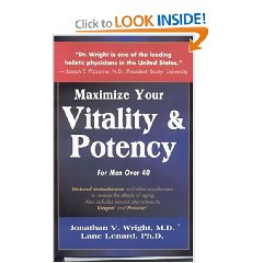 Vitality and Potency by Dr. Jonathan Wright and Lane
