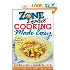 Zone cooking book